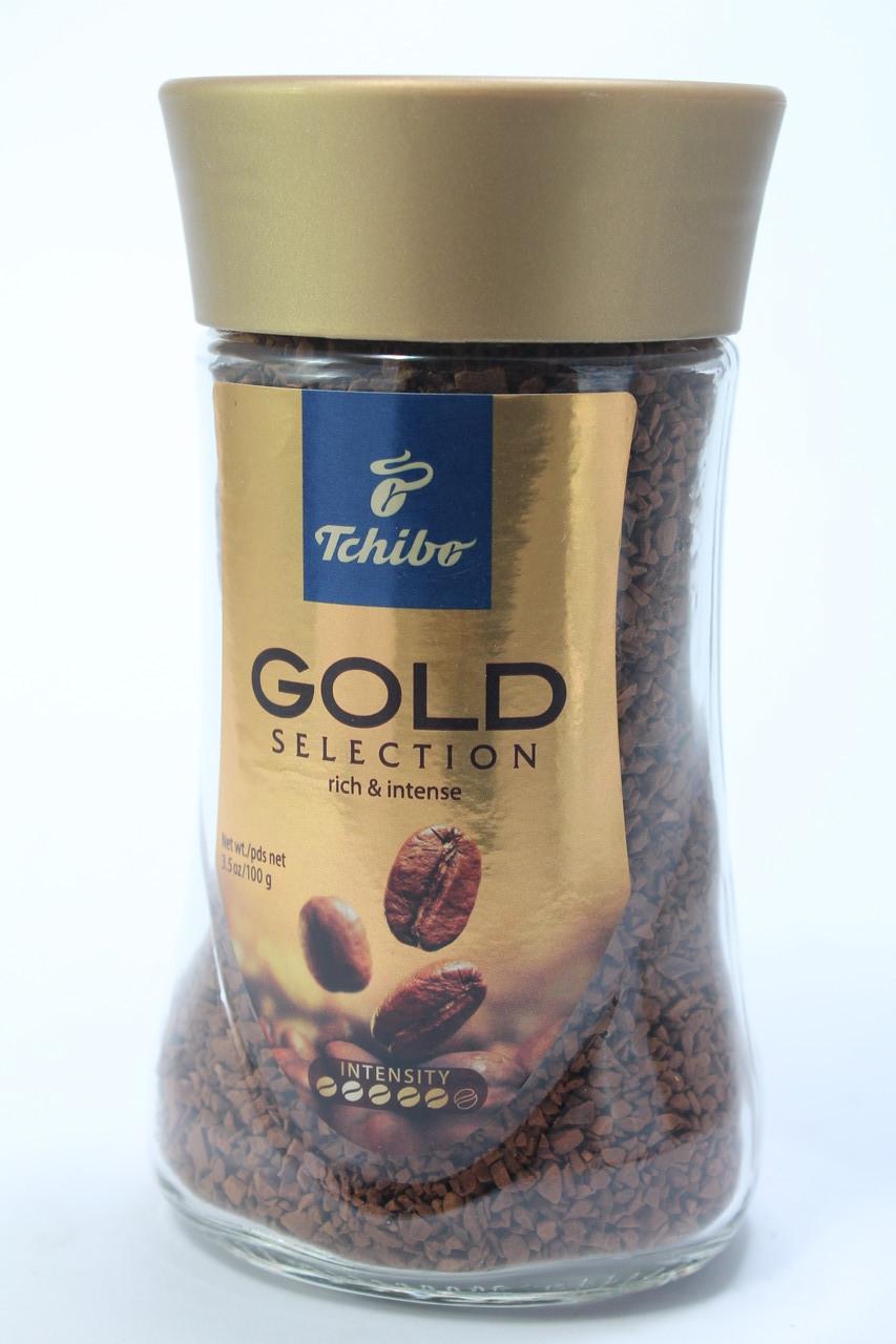 Кофе Tchibo Gold Selection Растворимый 100 г