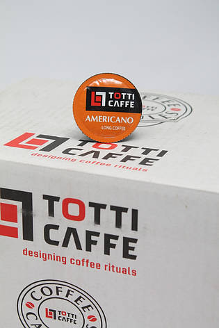 Кофе в капсулах TOTTI Americano ОПТ РОЗНИЦА 8 г, фото 2