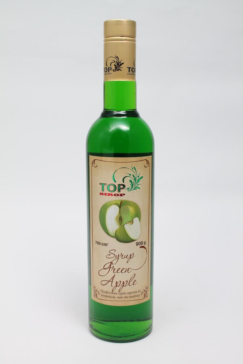 Сироп для кофе Зеленое яблоко   розница опт 700 мл