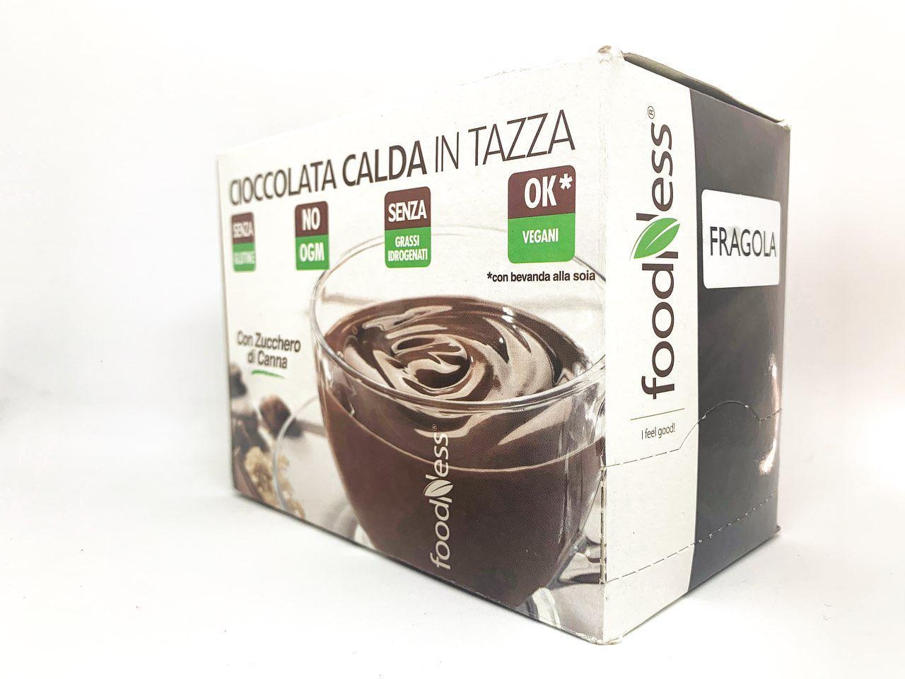 Горячий шоколад Fragola клубника  какао 30г