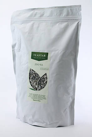 Китайский зеленый Чай Лоу Ча крупно листовой Tea Star 100 гр, фото 2