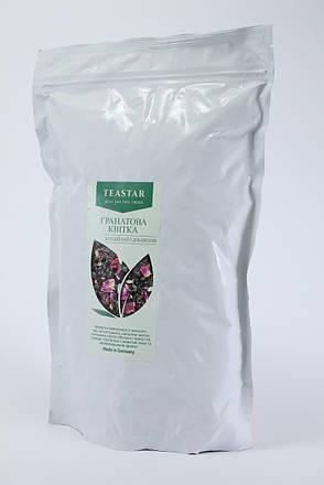 Чай зеленый Ароматизируваный  Гранатовый цветок Крупно листовой Tea Star 100 гр, фото 2