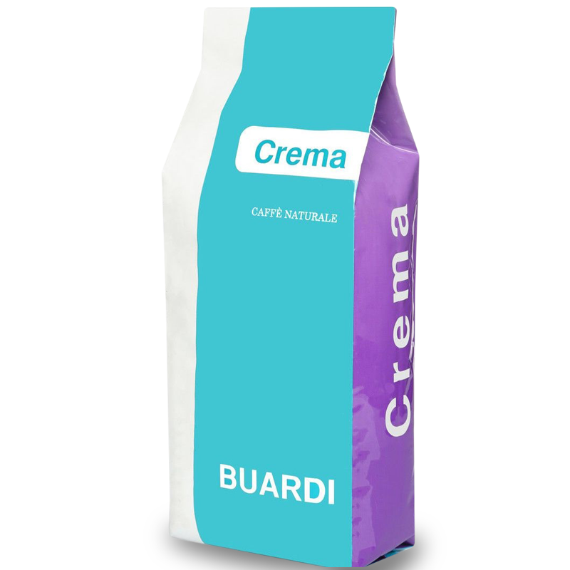 Кофе в зернах Buardi Crema 10% Арабика 90% Робуста 1 кг