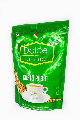 Растворимый кофе Dolce Aroma Gusto Ricco 120 г, фото 2