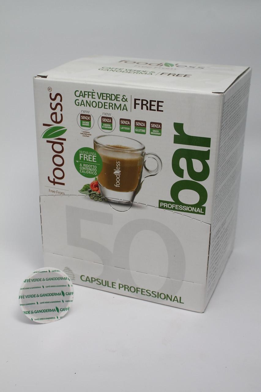 Кофе в капсулах  Зелена кава & Ганодерма DOLCEGUSTО 14 г