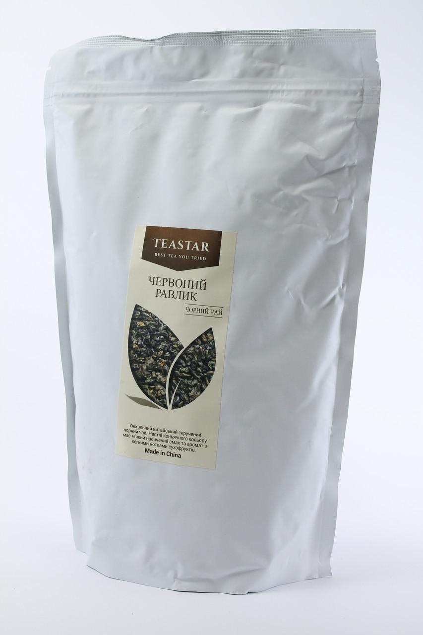 Китайский черный Чай  Красная улитка крупно листовой Tea Star 100 гр