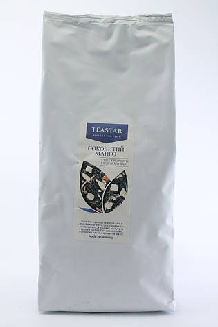 Чай черный Сочный манго крупно листовой Tea Star 250 гр, фото 2