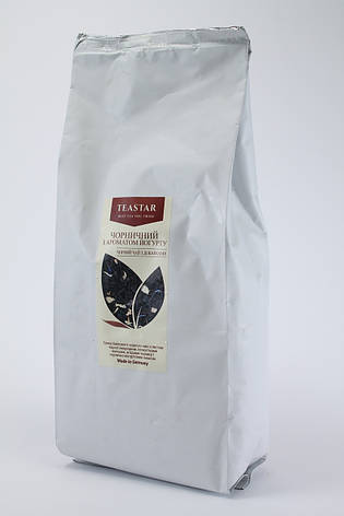 Чай черный ароматом йогурта крупно листовой Tea Star 100 гр, фото 2