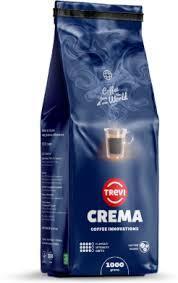 Кофе в зернах Trevi Crema 20% Арабика 80% Робуста 1 кг