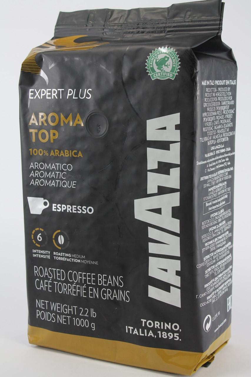 Кофе в зернах Lavazza Aroma Top 100% Арабика 1кг Лавацца Оригинал Италия