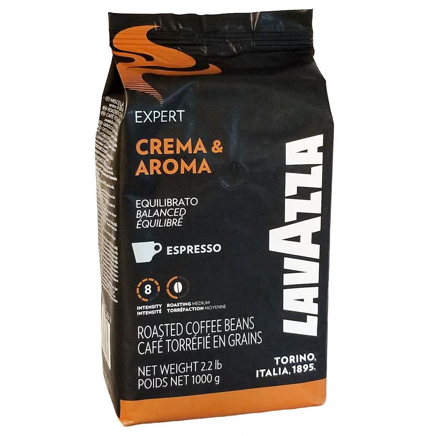 Кофе в зернах Lavazza Crema & Aroma Expert 1кг Лавацца Оригинал Италия