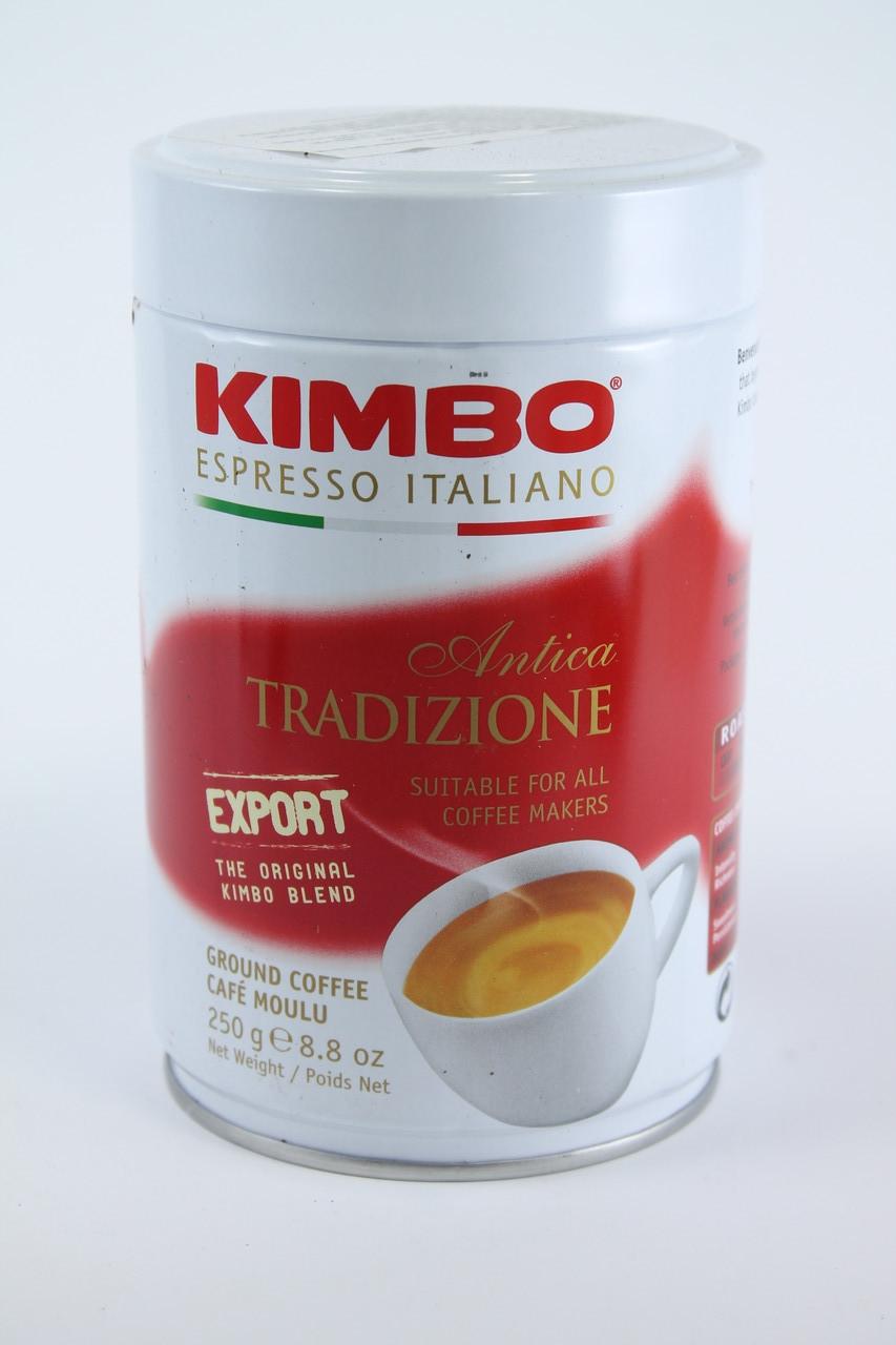 Кофе Молотый Kimbo ANTICA TRADIZIONE 80% Арабика 20% Робуста 250 гр