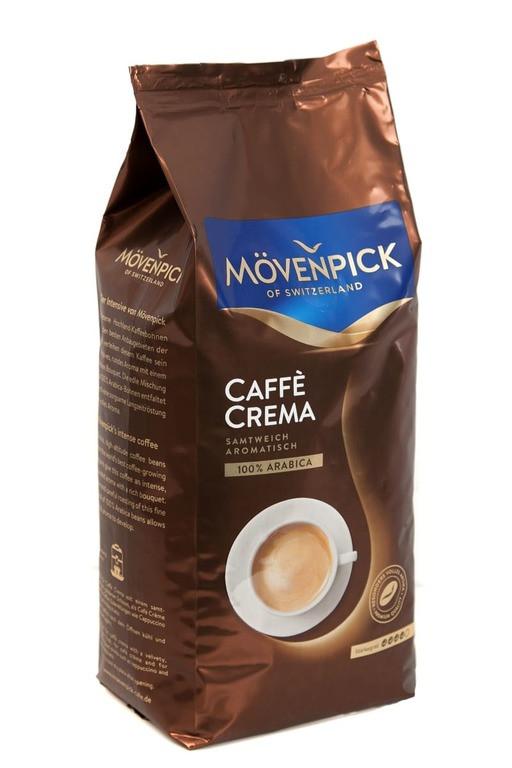 Кофе в зернах  Movenpick Сafe Crema 1кг Германия Оригинал