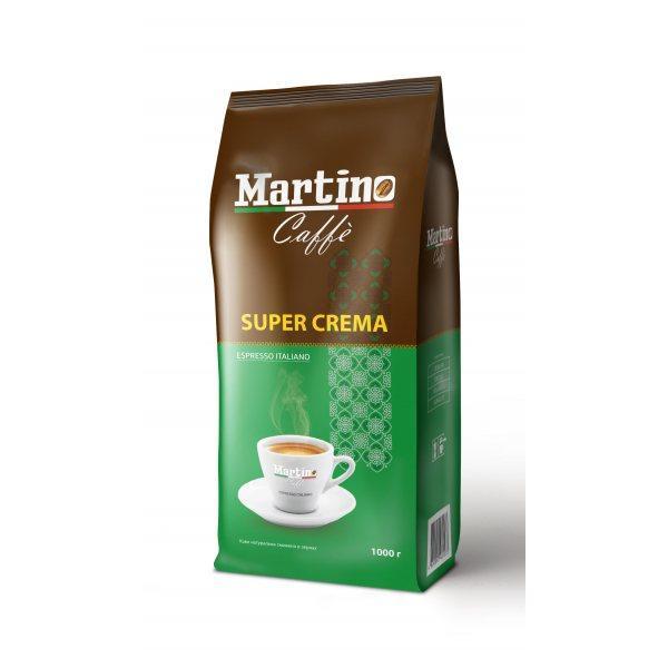 Кофе в зернах Martino Super Crema 1 кг Италия