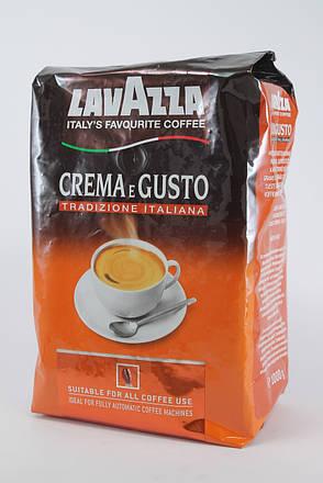 Кофе в зернах Lavazza CREMA e GUSTO Tradizione Italiana 1кг Оригинал Италия, фото 2