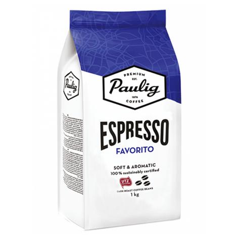 Кофе в зернах Paulig Espresso Favorito 1кг Финляндия, фото 2