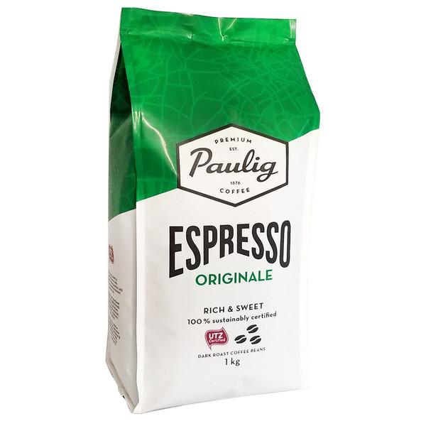 Кофе в зернах Paulig Espresso Originale 1 кг Финляндия