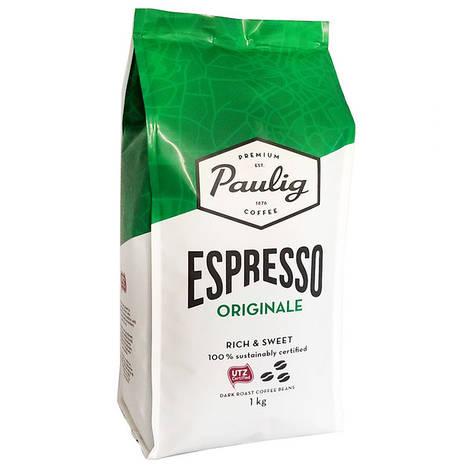 Кофе в зернах Paulig Espresso Originale 1 кг Финляндия, фото 2