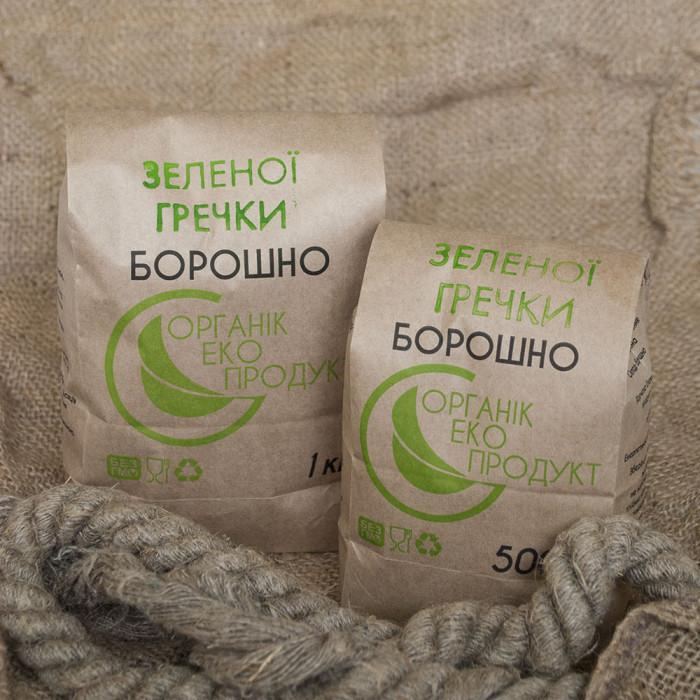 Мука зеленой гречки 1 кг