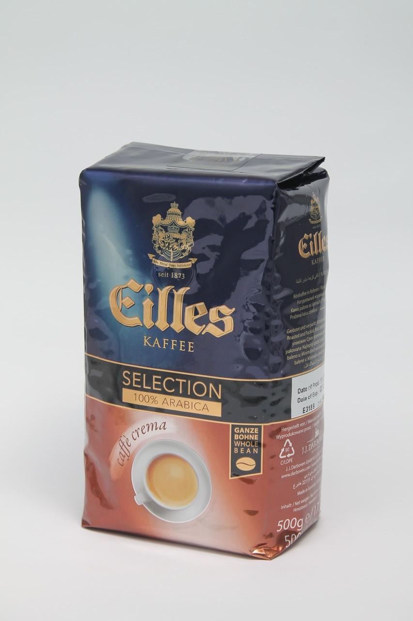 Кофе в зернах  EILLES Caffe Crema  500 г Германия