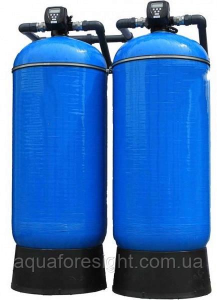 Система умягчения воды 3072 CI Twin производительностью на 13,7 м³/ч