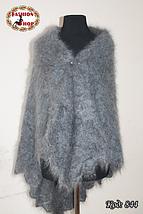 Оренбургская большая пуховая шаль Альмира 125 см, фото 3