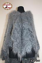 Тёплая оренбургская пуховая шаль Альмира 115 см, фото 3