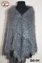 Тёплая оренбургская пуховая шаль Альмира 115 см, фото 2