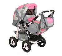 Adamex Patrol коляска-трансформер Розовый