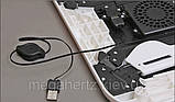 Подставка столик для ноутбука с двумя USB кулерами, фото 2