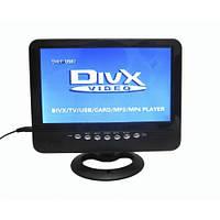 Портативный телевизор TV USB SD АКБ 9,5 999
