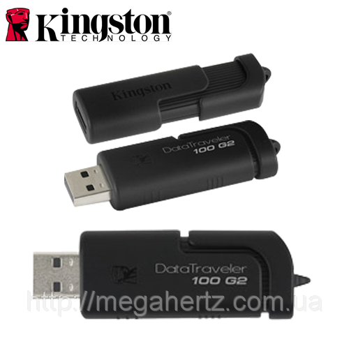 USB Flash 8GB флешка Kingston DataTraveler 100 G2, фото 1