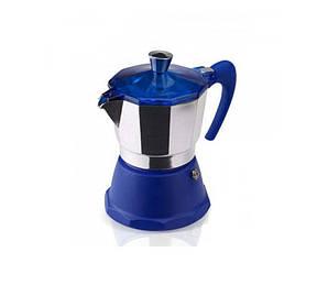 Гейзерная кофеварка GAT FANTASIA синяя на 3 чашки (106003 синя)