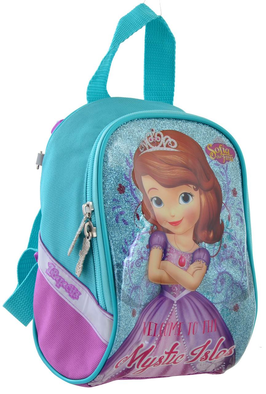 Рюкзак детский 1 Вересня K-26 Sofia Бирюзовый (556465)