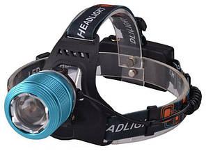 Налобный фонарик Bailong BL-2199 T6 Blue (1em_005802)