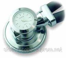 Стетоскоп Раппапорта LD SteTime с часами, профессиональный, 5 рабочих комбинаций стетоскопа, длина трубок 56см