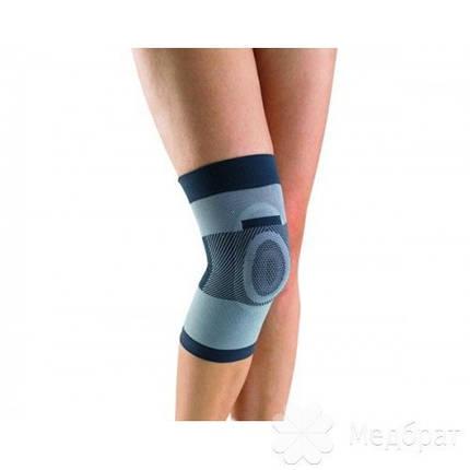 Бандаж компрессионный на коленный сустав с силиконовым кольцом Т-8520, фото 2
