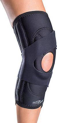 Пателлофемолярный коленный ортез DonJoy Drytex Lateral J, левый, черный, фото 2