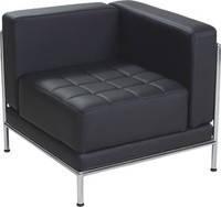 Офисный диван Мираж угловой модуль кожзам Мадрас