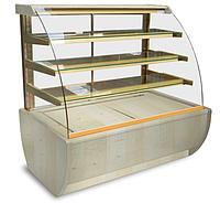 Кондитерская холодильная витрина JAMAJKA 0.6W (гнутое стекло)