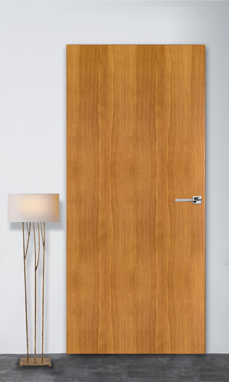 Межкомнатная дверь Флэш 1 светлый дуб ПГ (скрытого монтажа)