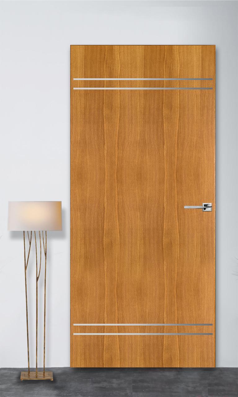 Межкомнатная дверь Флэш 9 светлый дуб ПГ (скрытого монтажа)