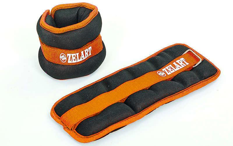 Утяжелители-манжеты для рук и ног (2 x 2 кг) Zelart FI-2502-4