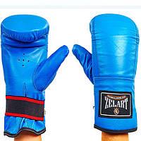 Снарядные перчатки Кожа ZELART ZB-4005-B (реплика)
