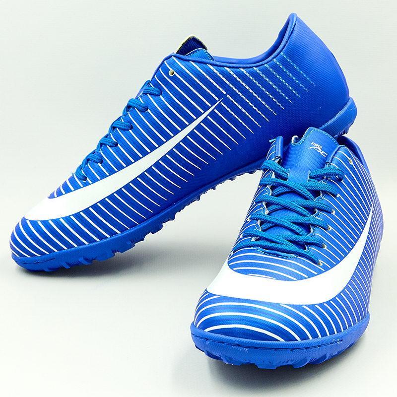 Сороконожки обувь футбольная подростковая VL17562-TF-35-40-NW 38