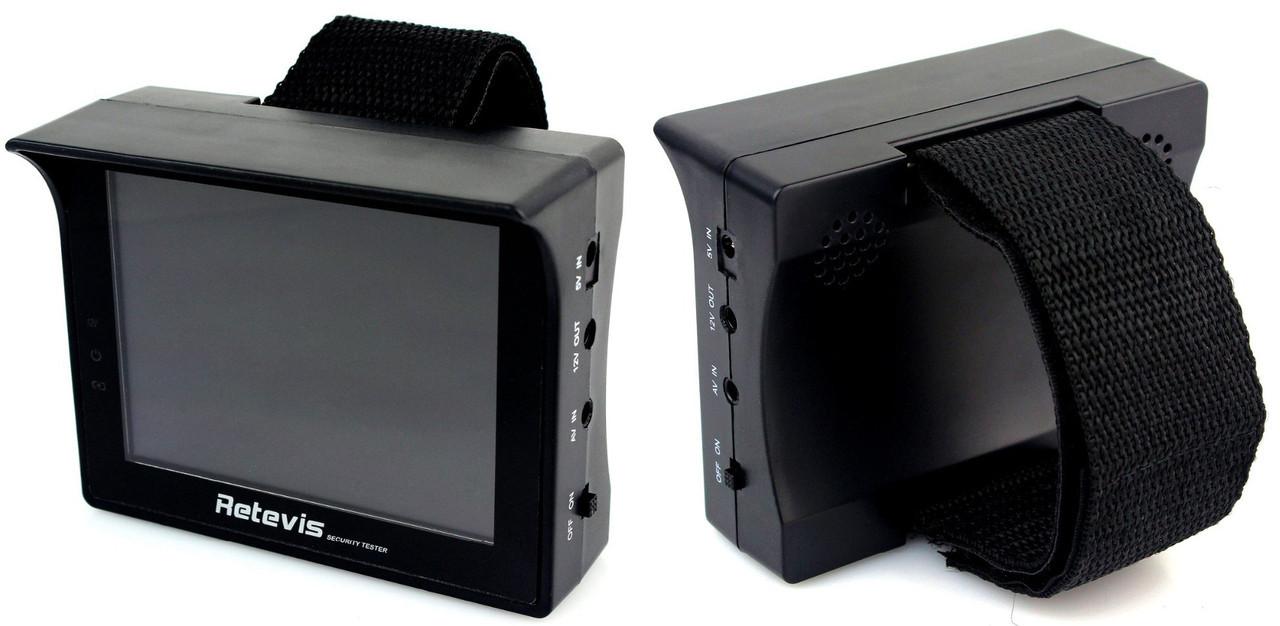 Монітор манжета для встановлення налаштування CCTV камер
