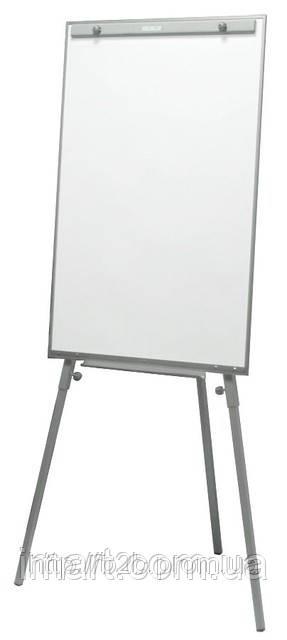 Флипчарт маркерный Эко-Плюс 65х100 см на треноге. Фліпчарт білий для маркеру