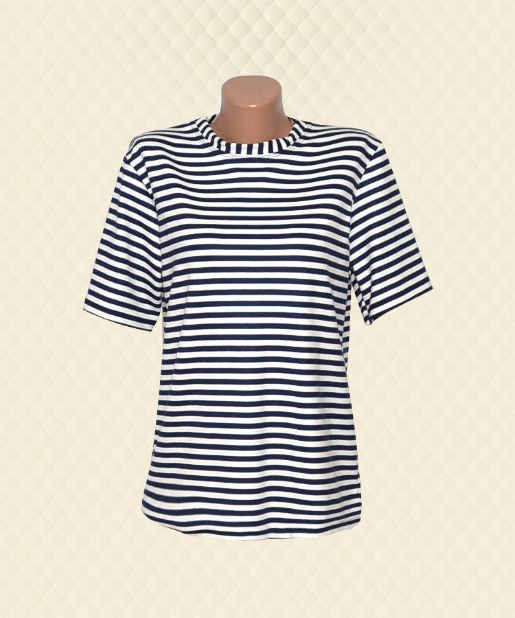 Блуза женская Полоска французский трикотаж