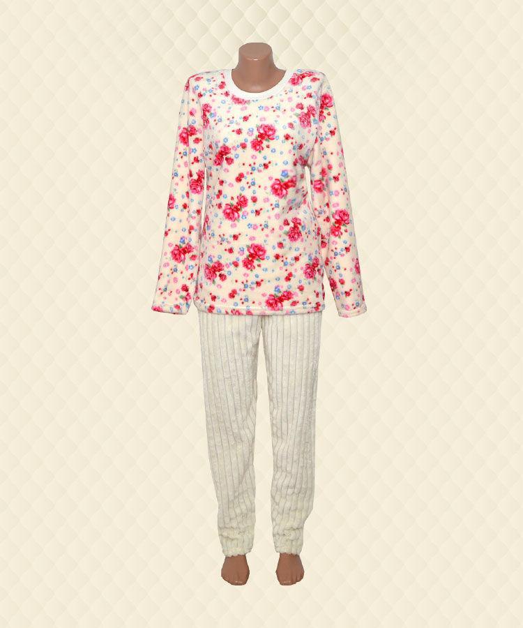 Пижама женская Розы велсофт