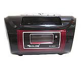 Бумбокс радиоприемник MP3 Golon RX 662Q Black, фото 2
